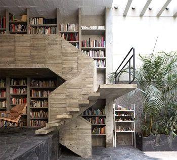 Cofersa - Diseño interior y Arquitectura BRUTALISTA - Escalera brutalista