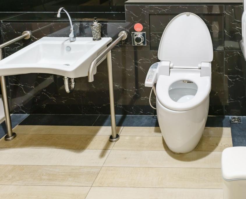 Cofersa - Blog - Soluciones para hacer una casa accesible para discapacitados - Barra Baño minusválidos