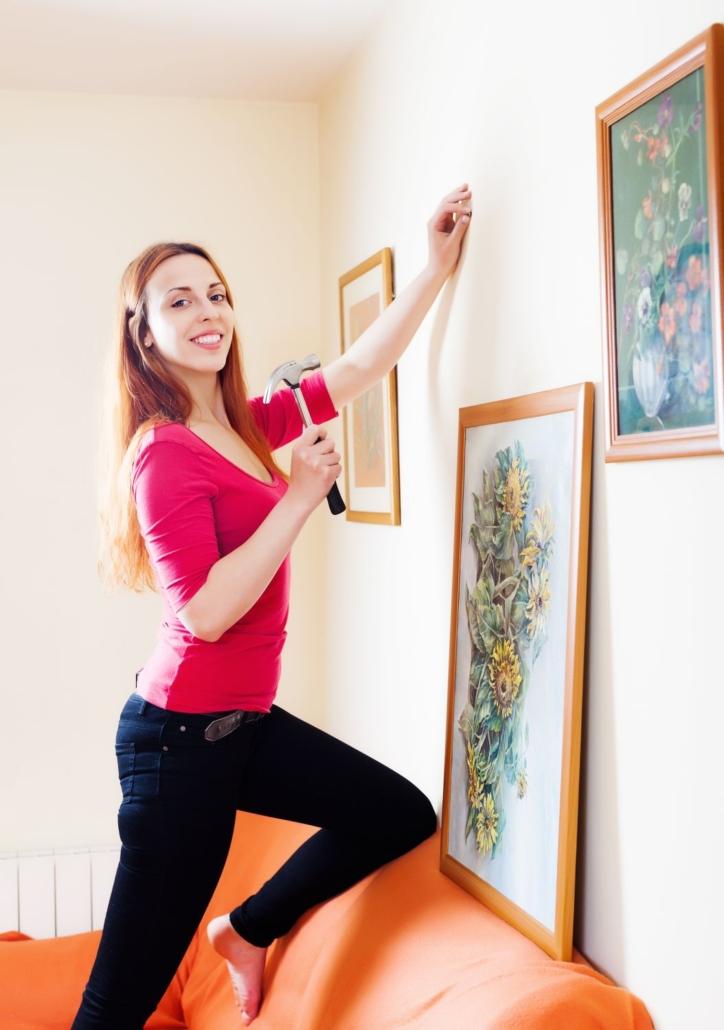 Cofersa - Blog- Cómo colgar cualquier cosa en tu casa - Cómo colgar cuadros fácil