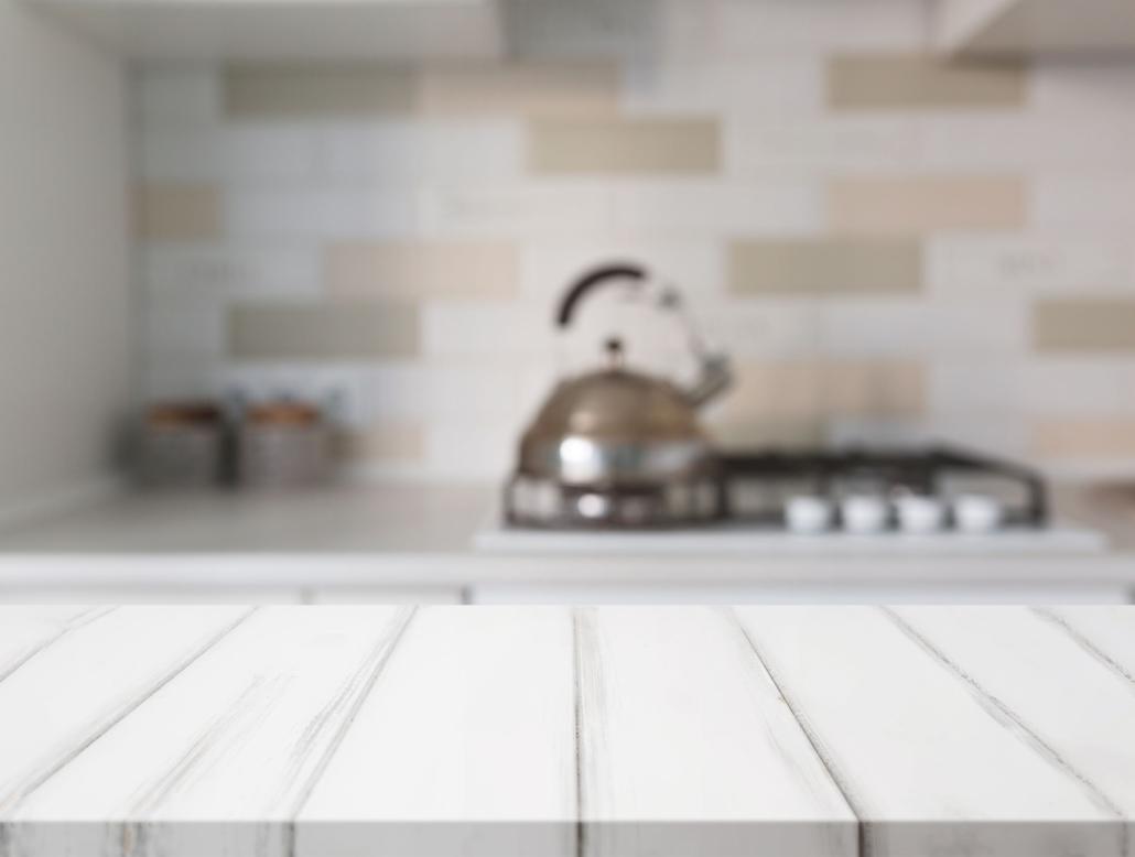 Cofersa - Blog- Consejos para una cocina moderna - Cocina encimera difuminada