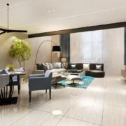 Cofersa - Blog- Cómo elegir los mejores suelos para tu casa - Salón piedra