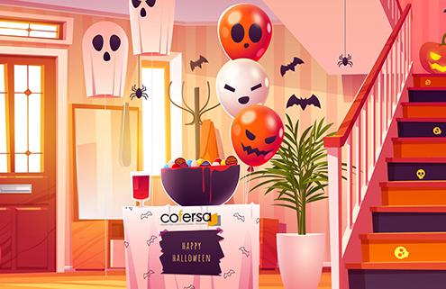 Cofersa - Blog- Consejos de seguridad para Halloween en nuestros hogares - Decoración halloween